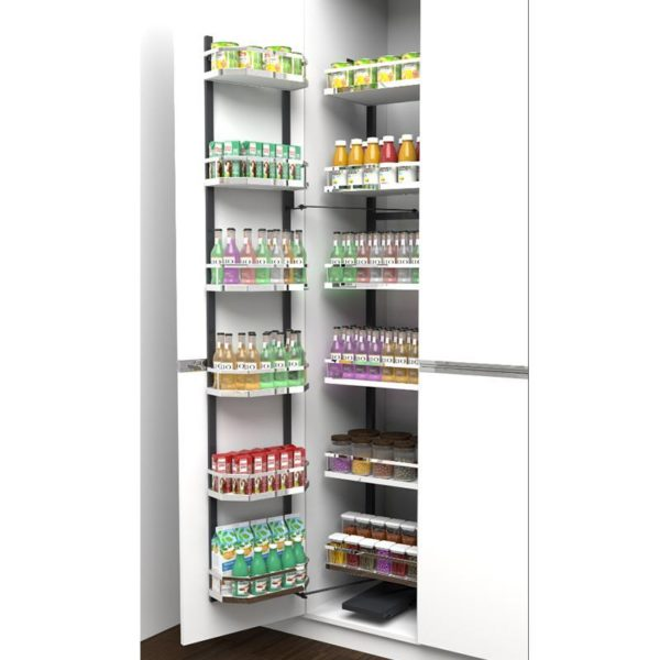 Tall Pantry Unit-600MM Solid Base Basket (New) ATP60SF + ATP60SB