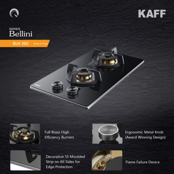 BLH 302 | Full Brass High Efficiency Burners |Flame Failure Device