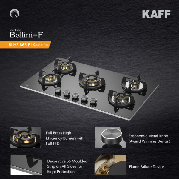 BLH-F 865 | Full Brass High Efficiency Burners | Flame Failure Device