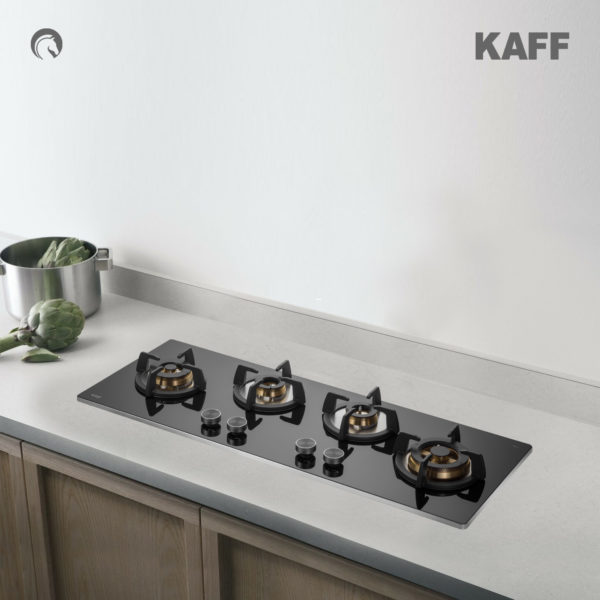 BLH-F 100 BLK | Full Brass High Efficiency Burners | Flame Failure Device | Builtin Hob