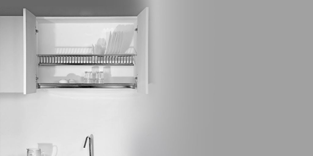 Dish Rack with Tray (K OS 660)