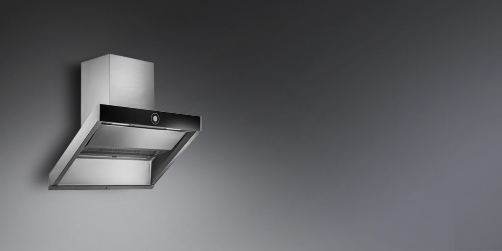 Kaff Filter Less chimney HOOVER 90 | Touch Control Chimney