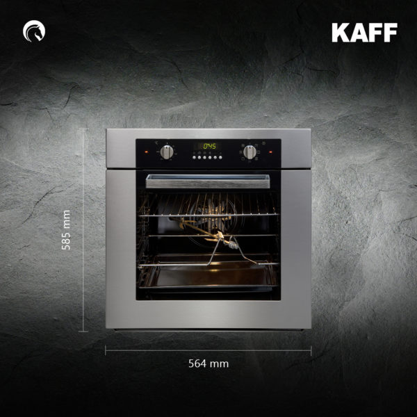 KOV 60 MHF | Two Layer Mirror Glass Door | Multi Function Oven