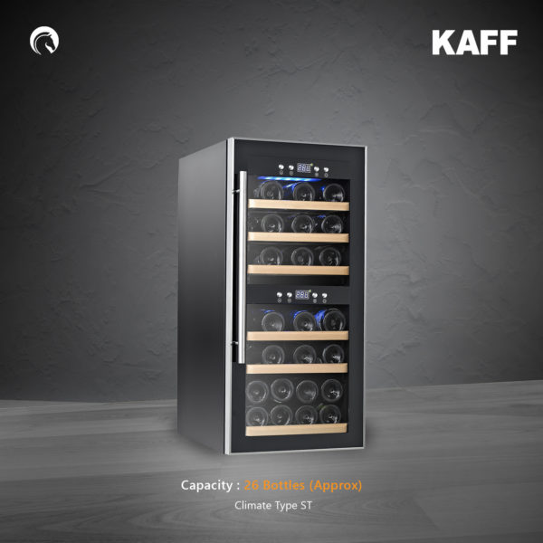 KWC - 24 | Free Standing Wine Cooler | Security Lock