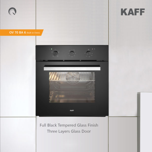 KOV 70 BA6 | Built In Electric Oven | Multifunction | Rotary Control Dial