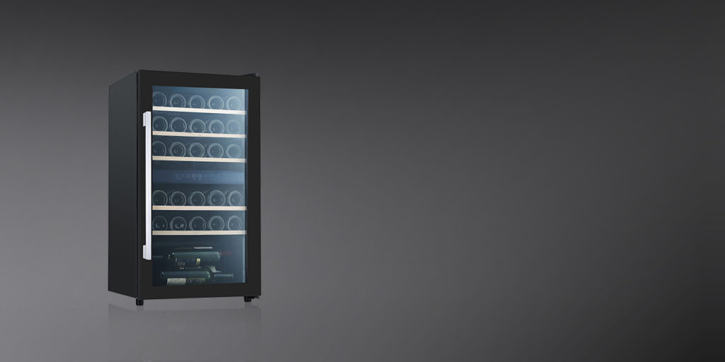 WC 76 DZ | Free Standing Wine Cooler | Touch Control