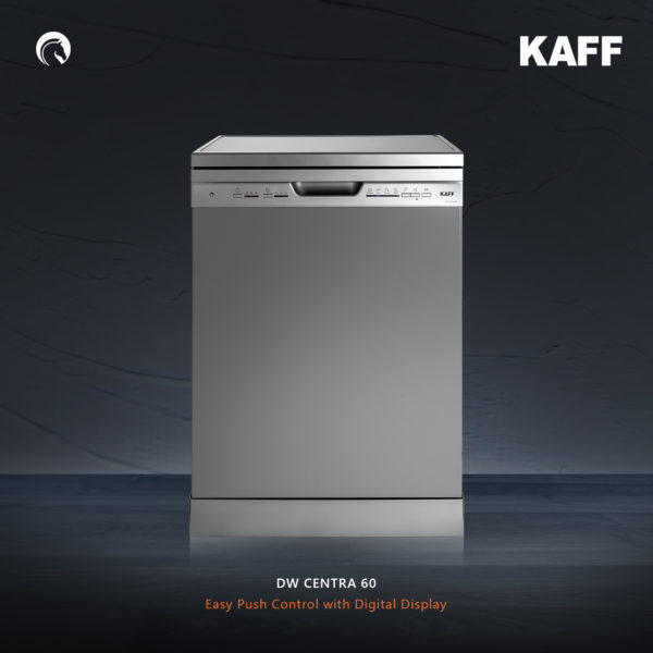 DW-CENTRA 60 | FREE STANDING DISHWASHER| 12 Place setting | Three stage filtration