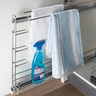 Pull Out Towel Holder -KTWH BPW15